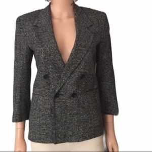 CHRISTIAN DIOR  double breasted blazer